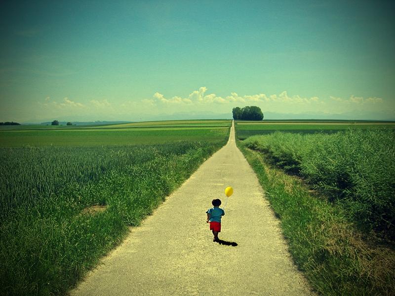 Tả con đường đến trường