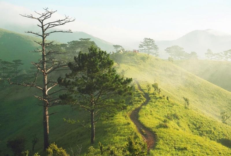 Được mệnh danh là cung đường trekking đẹo nhất Việt Nam với độ dài hơn 50 km