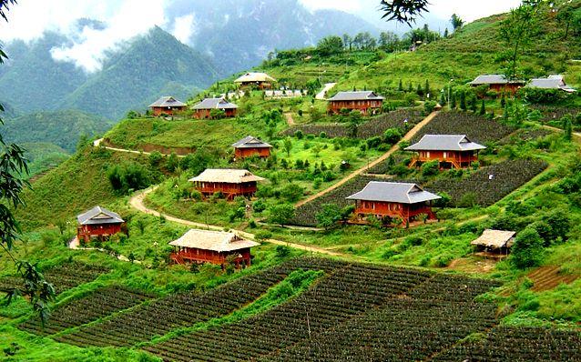 Tả Phìn, ngôi làng của người Dao Đỏ