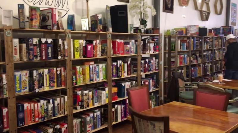 Không gian tại Tabletop Cafe