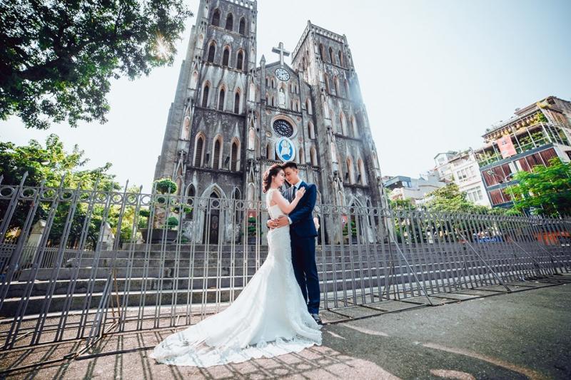 Chụp ảnh cưới đẹp tại Tada Wedding