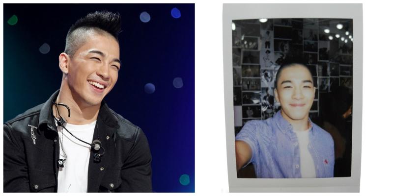 Nụ cười ấm áp như mặt trời của Tae Yang