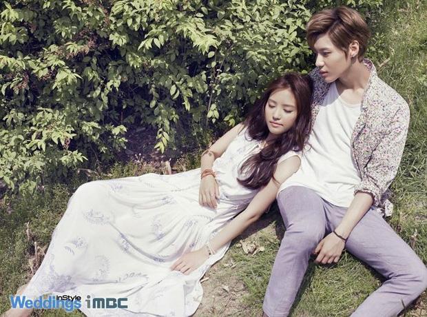 Taemin (SHINee) và Naeun (A Pink)