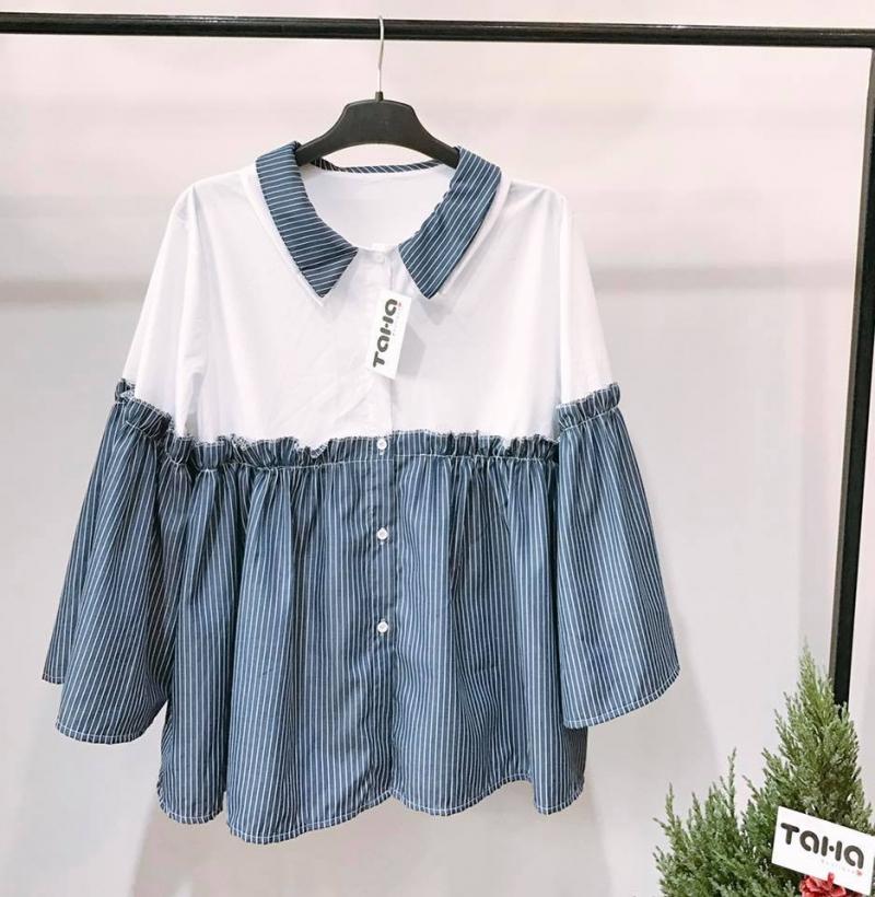 Một trong những mặt hàng chủ chốt của shop là áo sơ mi và váy