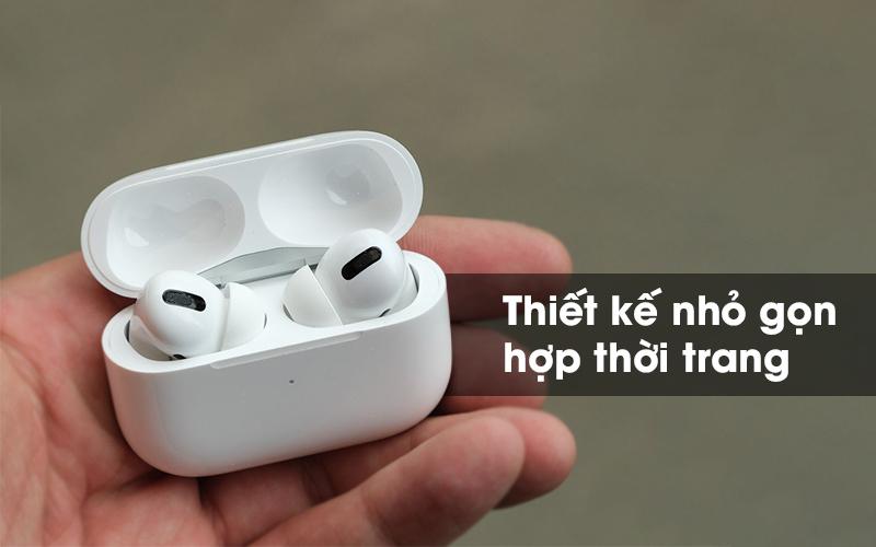Tai nghe Bluetooth sạc không dây AirPods Pro Apple MWP22 Trắng