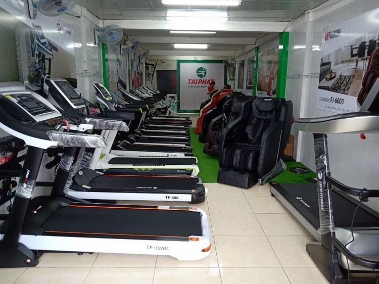 Một số mẫu máy chạy bộ tại Tài Phát Sport