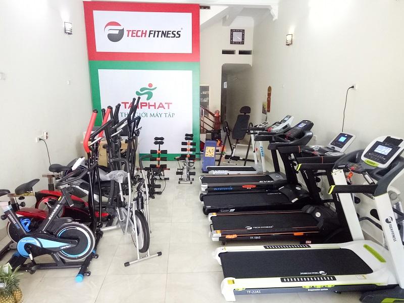 Một số mẫu máy chạy bộ trưng bày tại TÀI PHÁT SPORT