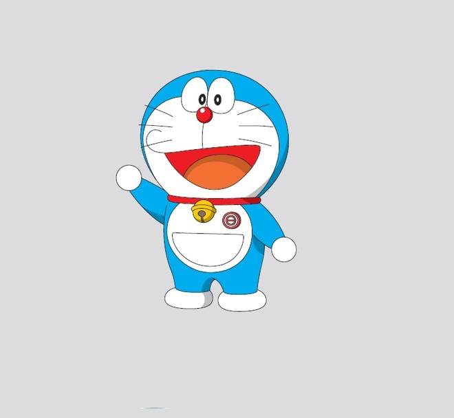 Tại sao Doraemon có màu xanh và mất cả hai tai?