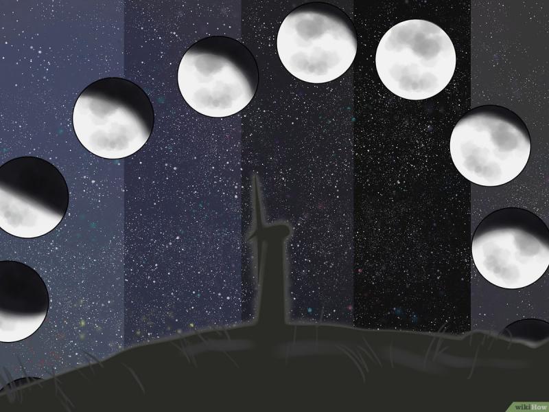 Tại sao mặt trăng lúc thì tròn lúc thì méo?