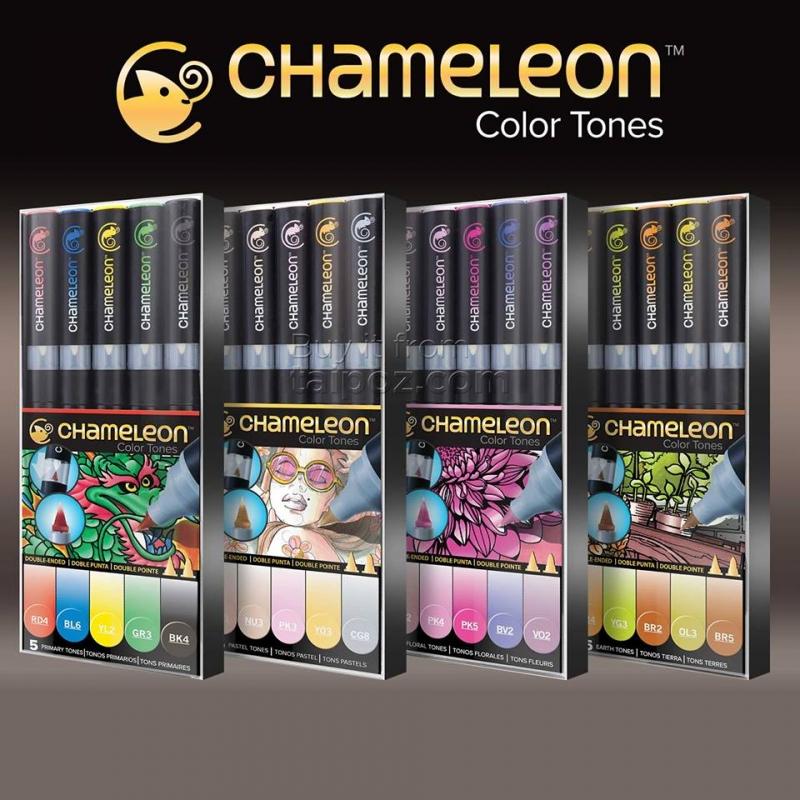 Sản phẩm bút marker tự đổi màu Chameleon được Taipoz giới thiệu