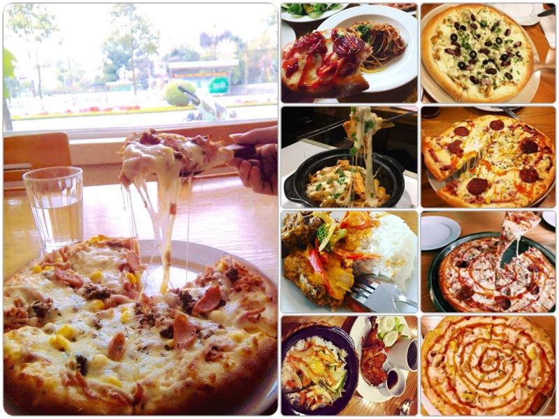 Pizza và một số món ăn mới lạ khác tại
