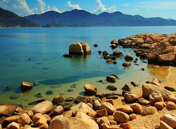 Tắm biển An Bàng