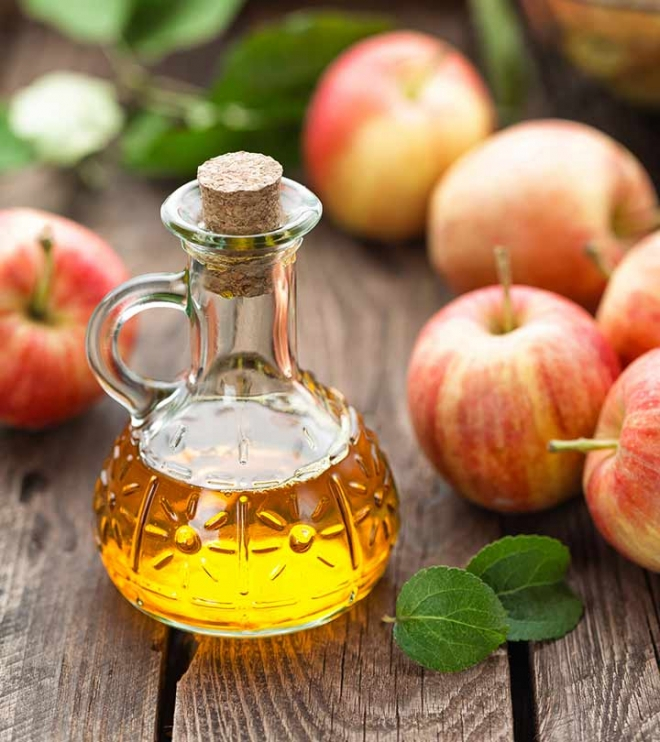 Dấm táo sở hữu khả năng trị mụn hiệu quả