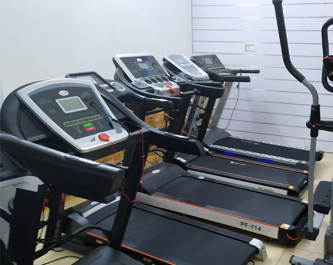Một số mẫu máy chạy bộ tại Thể Thao Tâm Chính