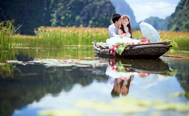 Top 10 địa diểm chụp ảnh cưới đẹp và lãng mạn nhất tại Ninh Bình