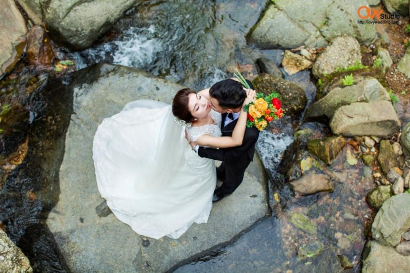 Chụp ảnh cưới ở Thác Bạc, Tam Đảo