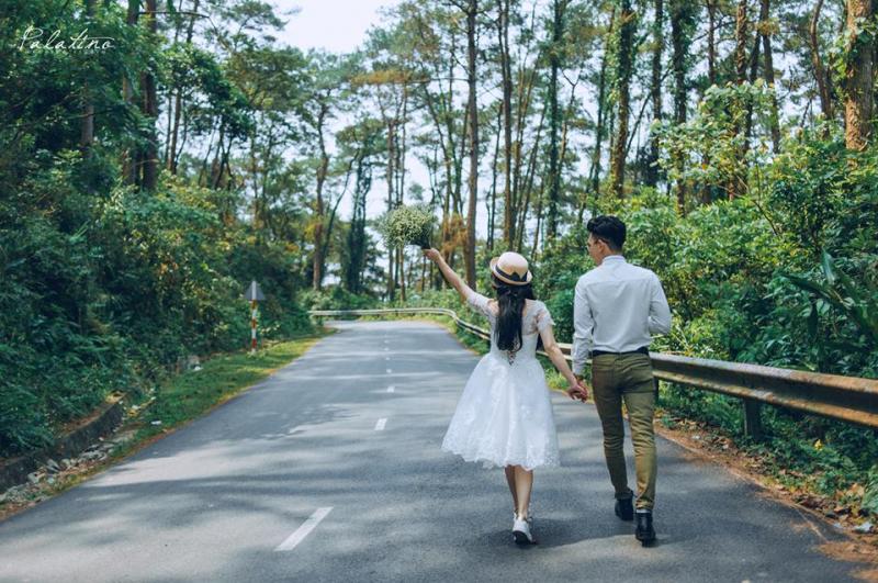 Chụp ảnh cưới ở vườn quốc gia Tam Đảo