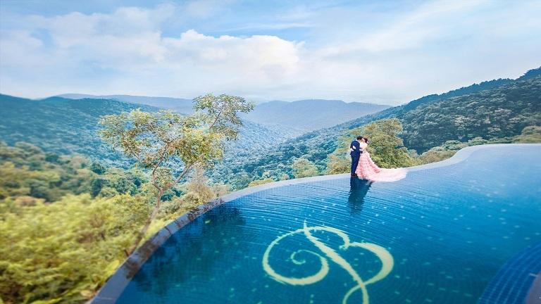 Belvedere Resort Tam Đảo cũng là một địa điểm lý tưởng để chụp ảnh cưới