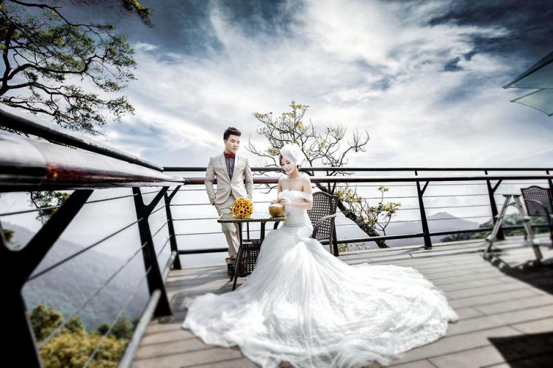 Tam Đảo có rất nhiều địa điểm để các cặp đôi chụp ảnh cưới