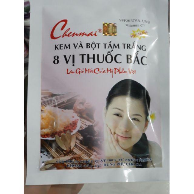 Tắm trắng 8 vị thuốc bắc Chenmai