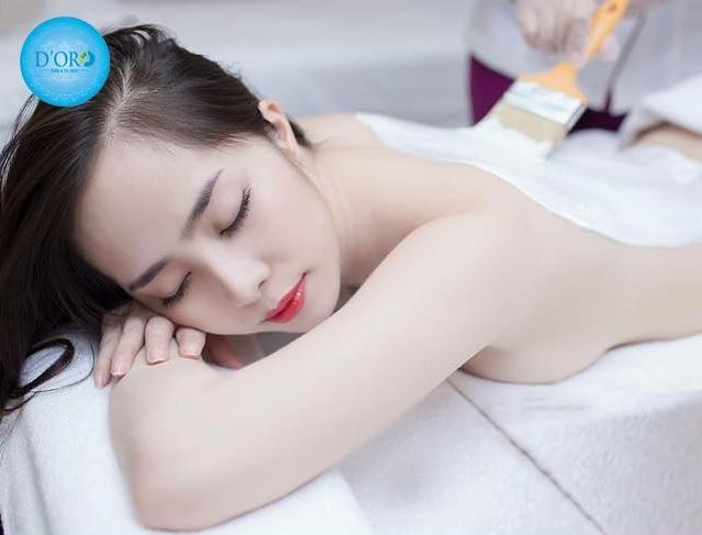 Tắm trắng an toàn tại D'ORO Spa Đà Nẵng