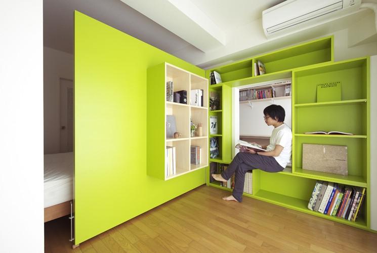 Gọn gàng với nội thất hiện đại