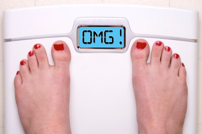 Tăng cân hoặc giảm cân đột ngột