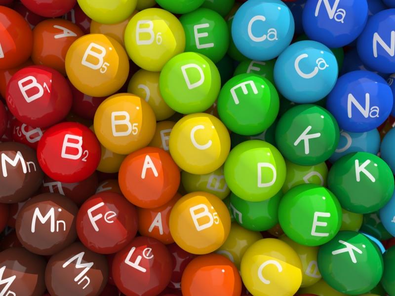 Tăng cường vitamin và khoáng chất