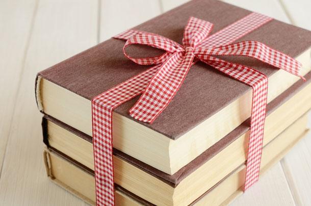 Những cuốn sách là một gợi ý không tồi cho ngày sinh nhật