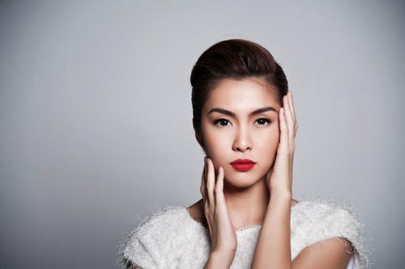 Nữ diễn viên xinh đẹp Tăng Thanh Hà