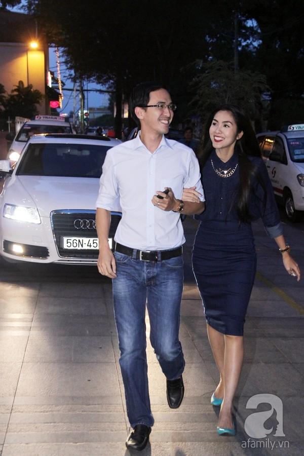 Tăng Thanh Hà hạnh phúc bên chồng