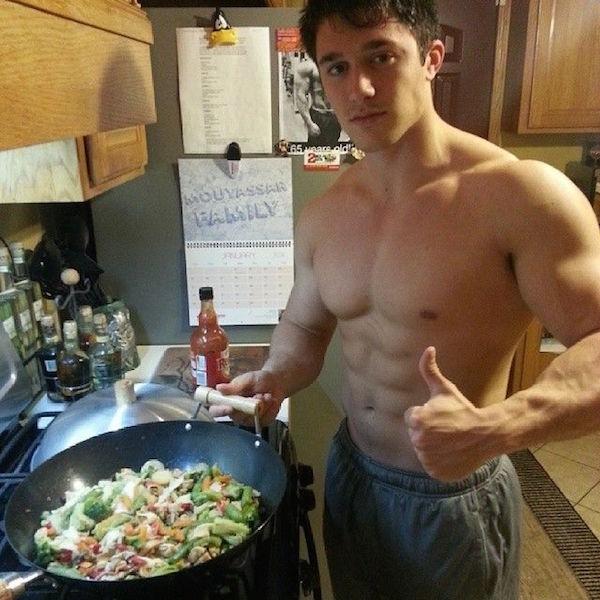 Khi Chàng vào bếp