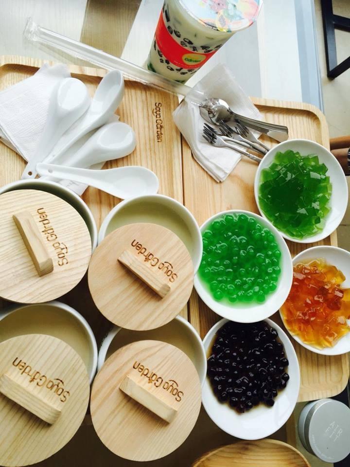 Tào phớ sữa đậu trà xanh - Soya Garden
