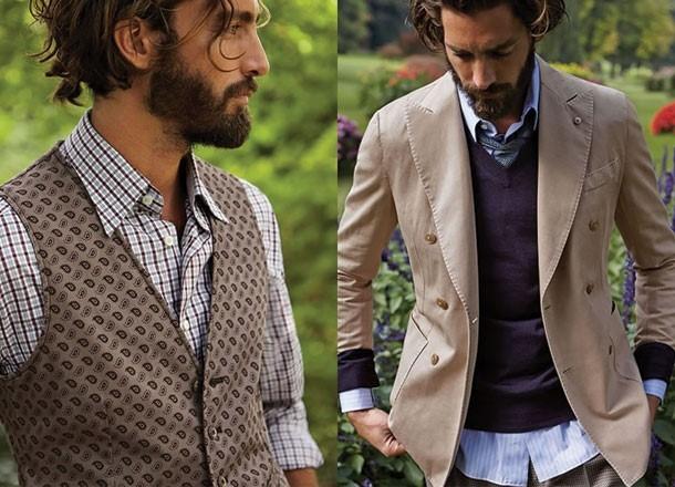Tạo phong cách ăn mặc đẹp cho nam bằng cách phối các chất liệu