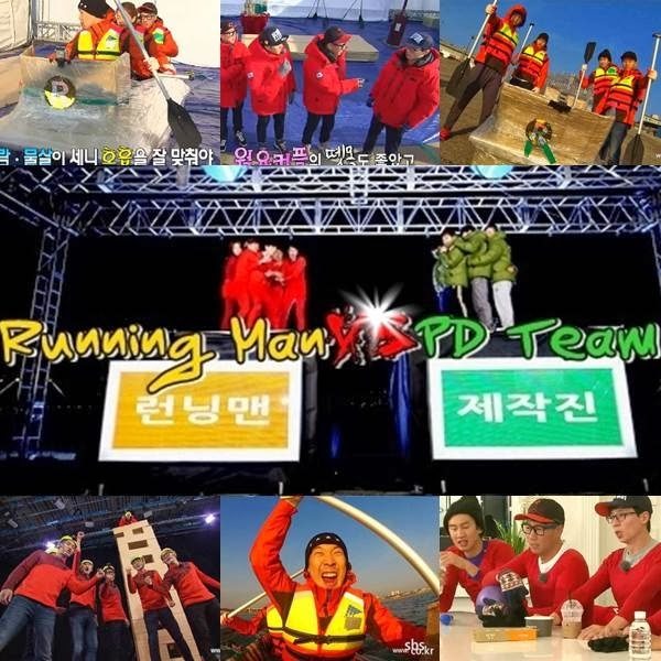 Running man vs PD Team