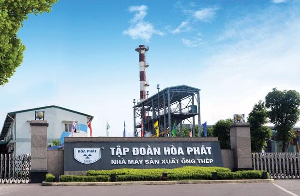 Tập đoàn ống thép Hòa Phát