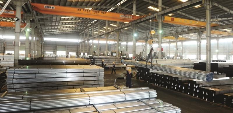 Nhà máy sản xuất ống thép Hoa Sen