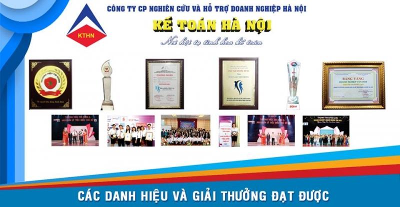 Danh hiệu và giải thưởng