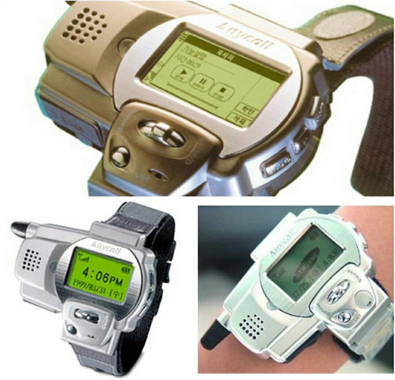 Smartwatch SPH-WP10 đầu tiên của Samsung
