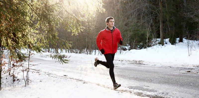 Tập thể dục giúp làm ấm cơ thể