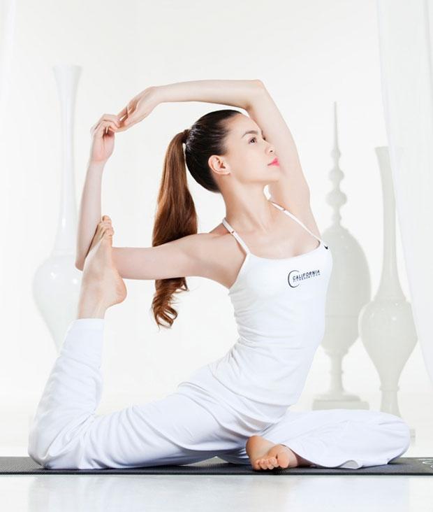 Yoga là bài tập hiệu quả để loại bỏ những căng thẳng, giúp tinh thần trở nên thoải mái dễ chịu.