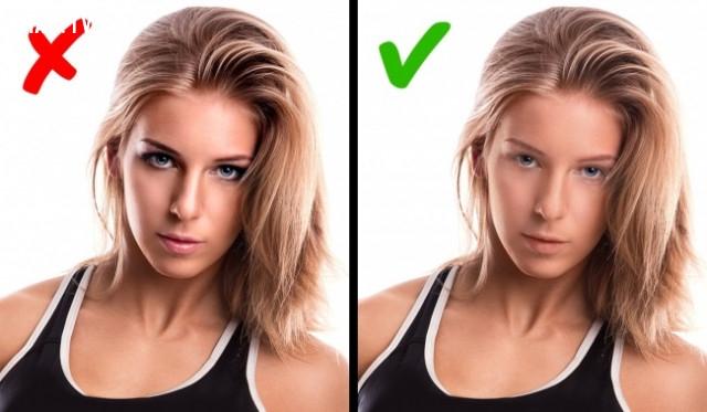 Bạn nên tẩy trang trước khi tập thể dục