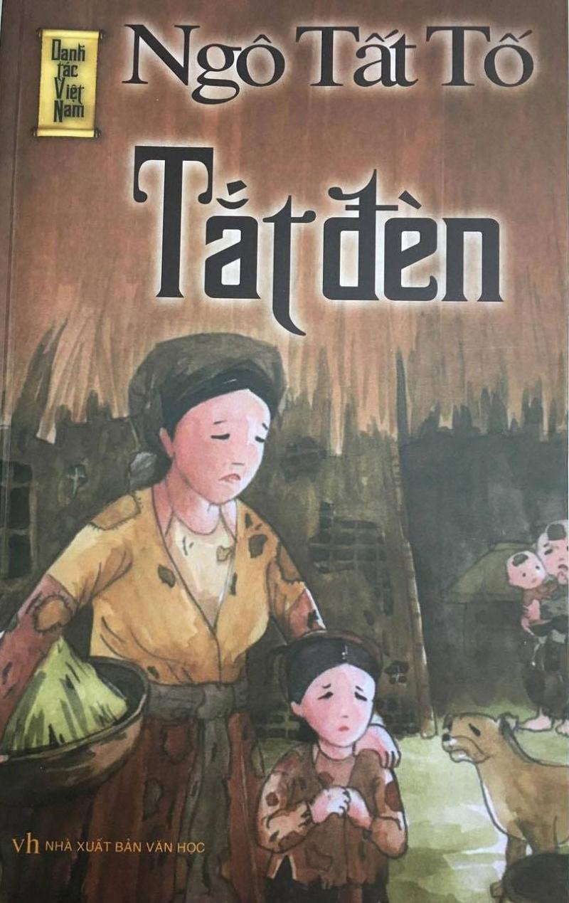 Tắt đèn - tiểu thuyết gắn liền với nhân vật chị Dậu, người phụ nữ giàu đức hy sinh, sống trong cảnh nghèo đói, túng quẫn