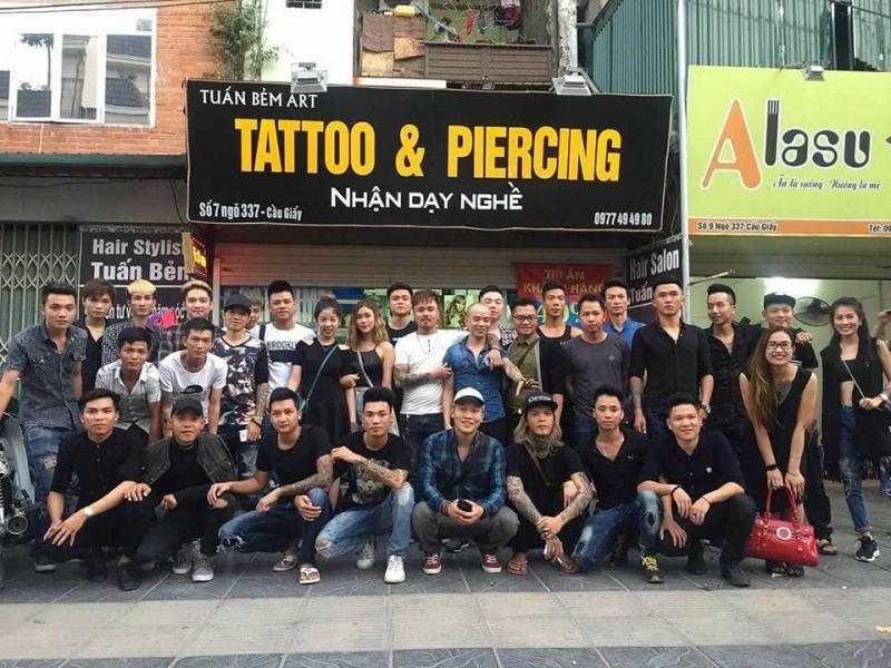 Tattoo & Piercing Tuấn Bẻm