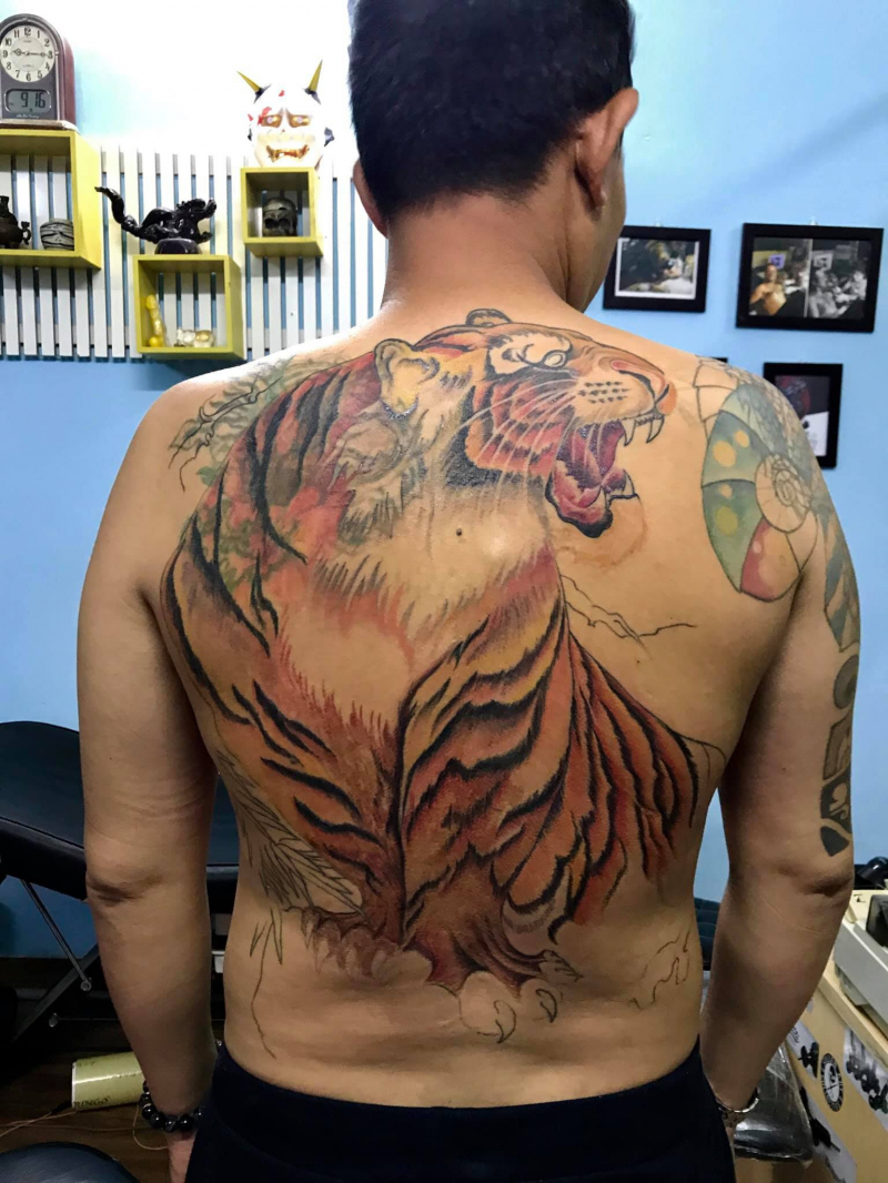 Tattoo Buddha - Đại Art