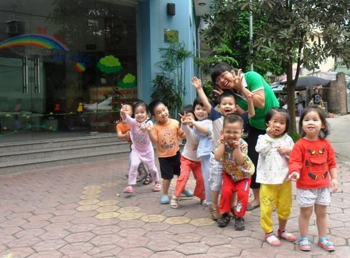 Tàu hỏa - trò chơi vận động dành cho trẻ mầm non hay nhất