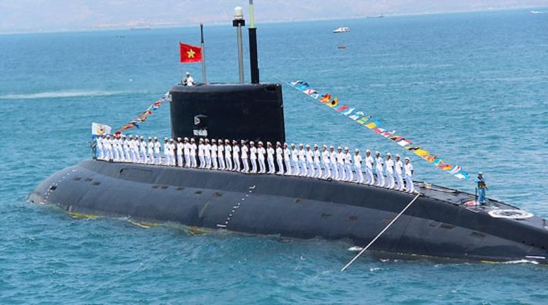 Tàu ngầm Kilo 182 Hà Nội