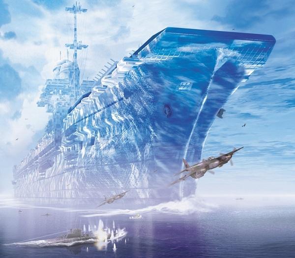 Tàu sân bay bằng băng