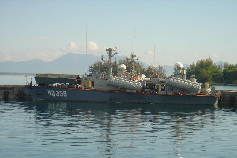 Tàu tên lửa Osa II HQ 359