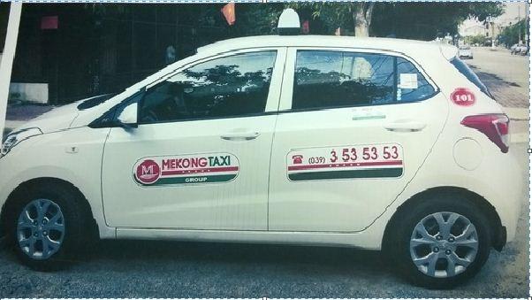 Taxi MeKong tại Vinh